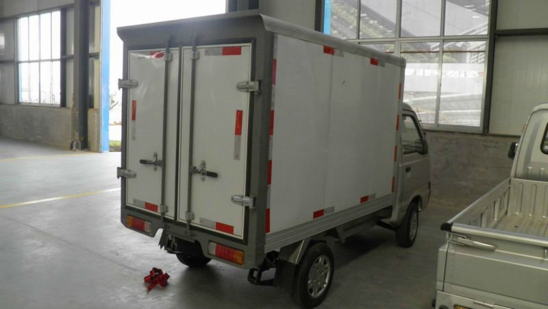 EEC electric box truck electric van 4kw/6.3kw 40km/h,60km/h