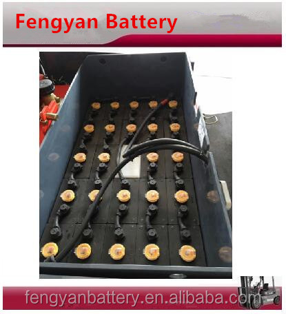 China Manufacturer forklift battery 48V