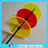 Fancy round creative catches disc acrylic display suncatcher pieces colorful acrylic sun catchers