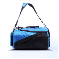 Alibaba supplier durable custom 1680D sports gym duffle bag for traveling