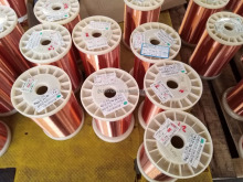 UEW/155 0.09MM enamelled round copper wires for electrical wire making machines
