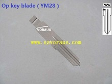 new uncut Opel YM28 key blade (YM28 keyway)