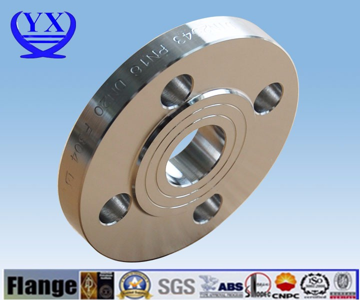 DIN 2566 hot galvanized THREADED FLANGE