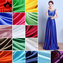 long satin nightgown fabric / wedding decor fabric / evening gown fabric