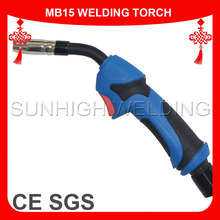CO2 Welding MAG Gun Torch 15AK Replacement Mig Welding Torch Swan Neck For CO2 15AK Welding Gun