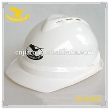 ISO 9001 Factory PE material custom construct safety helmet CE proved