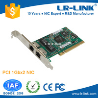 LREC7212MT Intel 82546 Chipset PCI RJ45 Dual Port Gigabit Ethernet LAN Card