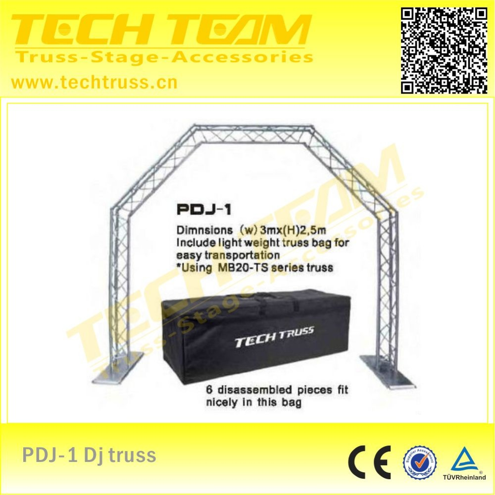 Portable DJ trussing stand (w)2.5m*(h)2.4m convenient!