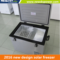 DC 12V DC 24V fridges refrigerator 40L AC DC portable car freezer fridge 12V/24V camping freezer