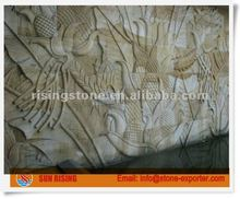 Sandstone Carving wall