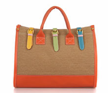 2014 the latest fashionable colorful high-capacity canvas tote bags,high quality designer handbags women