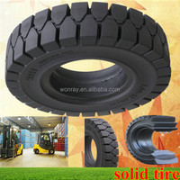 Top Sales Forklift Gomme Piene, Industrial Pneumatic SOLID Tires 7.00-15 With Low Price