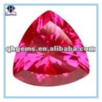 Brilliant 12*12mm Triangle shaped Ruby Corundum #3