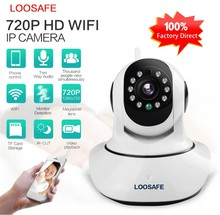 Baby monitor wireless sd card cctv camera 720P home guard camera