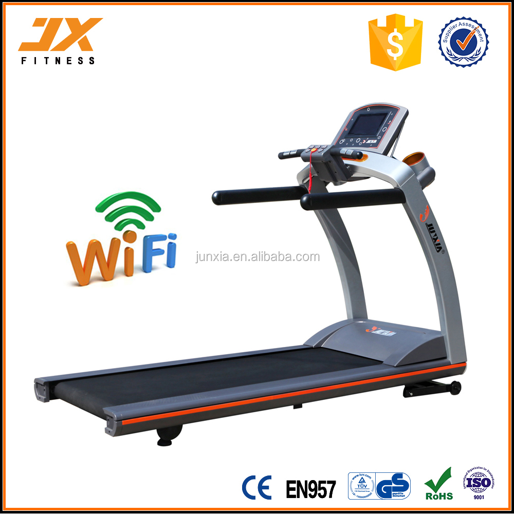 New DC motor with WIFI treadmill gym equipment