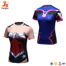 Cody Lundin hign quality camiseta marvel compression wear t shirt for women
