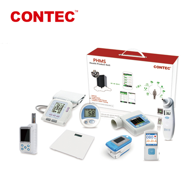 CONTEC PHMS Client-side Android/IOS system,3G/4G /WIFI medical device -Telemedicine