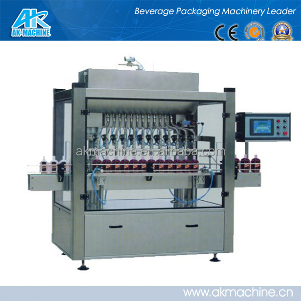 soy sauce/vinegar/seasoning/vegetable oil Line Filling Machine made in china