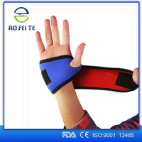 2016 new style riding tennis wrist / thumb wrap support neoprene wrist support