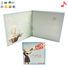Best price musical greeting card with sound chip