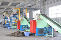 Best sale automatic used tire crushing equipment