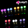 Night Glowing Product Colors Changing Star Shape LED Light Ring for night activities