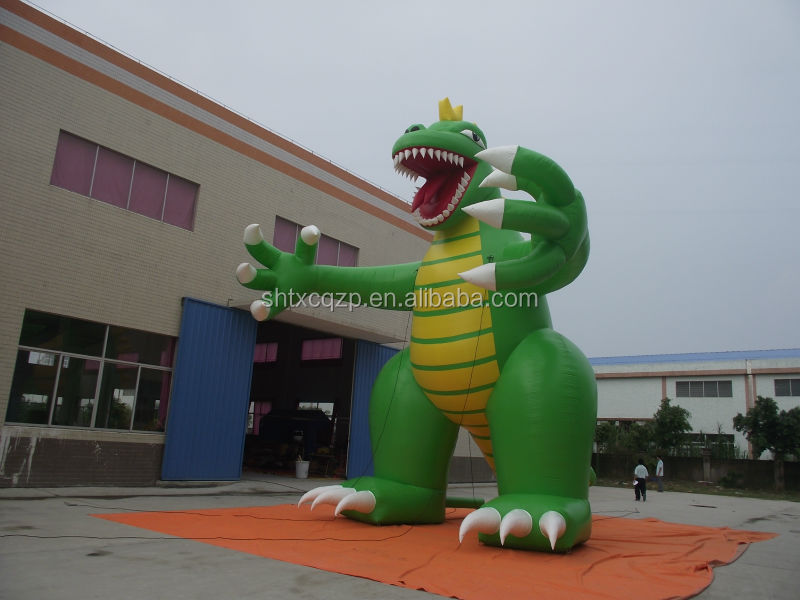 Giant inflatable dinosaur model for display/ inflatable fixed cartoon