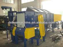 Plastic Large diameter HD PE pipe shredder