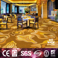 Best Quality Special Design Swampland Mud Flat Pattern Customized Restaurant Carpet
