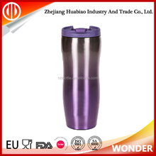 Hot Selling custom cheap 12oz insulated stainless steel coffee mugs with lid