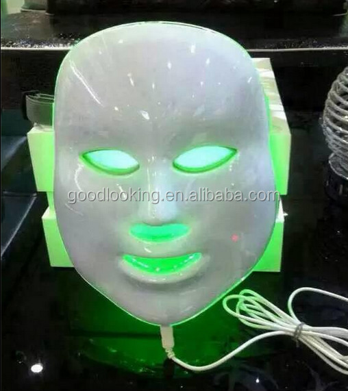 the best selling 7color led photon facial mask led light therapy mask with factory price