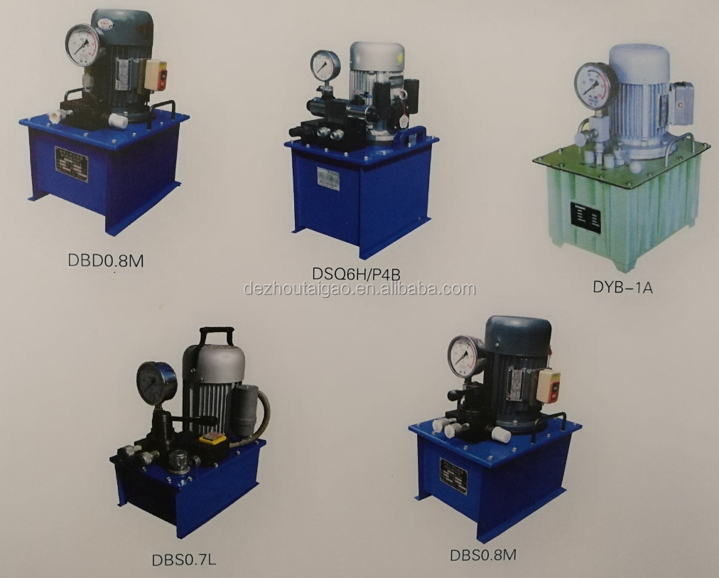 High pressure hydraulic oil hand pump station for sale hand operated oil pump station SYB-1