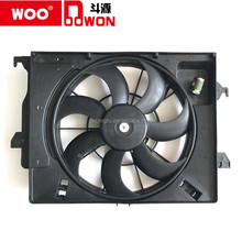GOOD QUALITY CAR RADIATOR FAN/COOLING FAN MADE IN CHINA OEM 25380-4X050; 25380-1R050 K2; NEW RIO