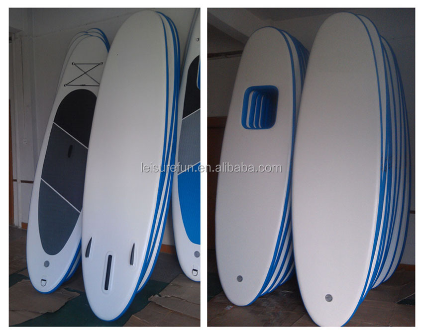 Fashionable Hot sale inflatable paddle board with window