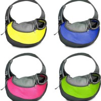 mini size nylon colorful pet transport backpack