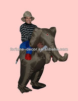 200cm high inflatable elephant costume
