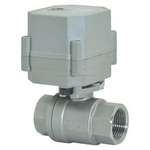 Female screw connection 220V electric ball valve DN20