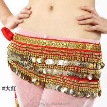 High Quality 388pcs Golden Coins Tribal Belly Dance Belt