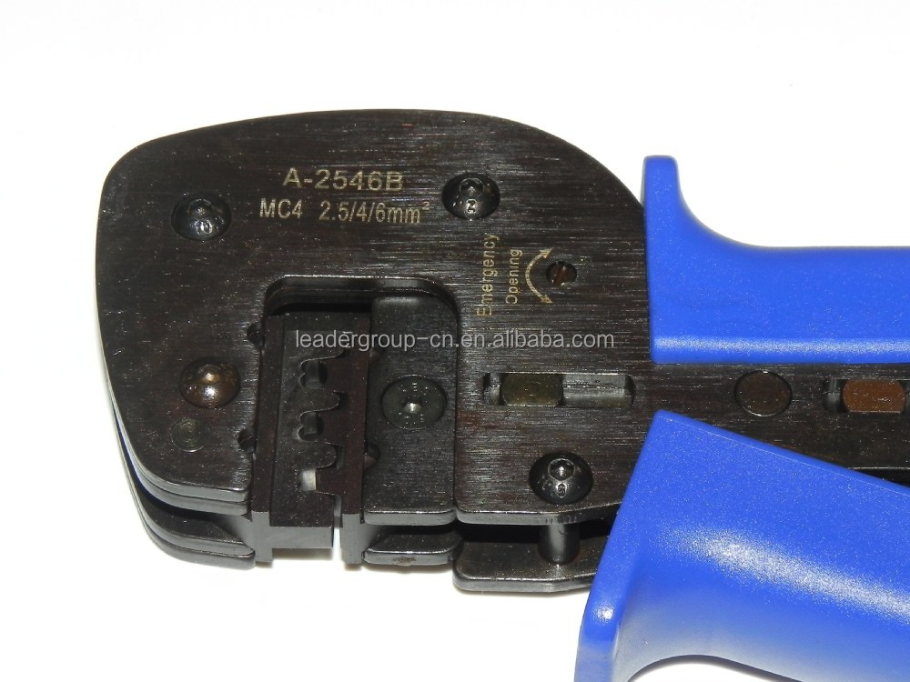 MC4 Solar Crimper Crimping Tool for 2.5/4.0/6.0mm2 Terminal Pin