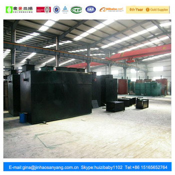 WSZ type carbon steel hospital waste water treatment equipment
