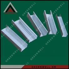 steel profile suspended ceiling system main channel furring channel price and size