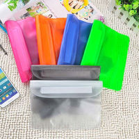 HT0205 Mobile Phone Waterproof Bag Pouch for Smartphone Universal Waterproof Phone Case Snowproof Dirtproof Case Bag