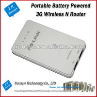 High Quality 150Mbps 2000mAh Portable Power Bank 3G WiFi Router And 3G Wireless N Router