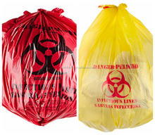 China Gold Supplier wholesale Clinical Waste Bag with High quality for Clinical Industrial