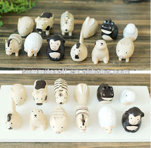 Polyresin cartoon 12 chinese zodiac animals