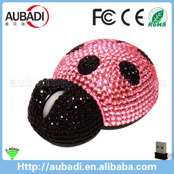 rhinestone bling computer accessories, custom computer mouse