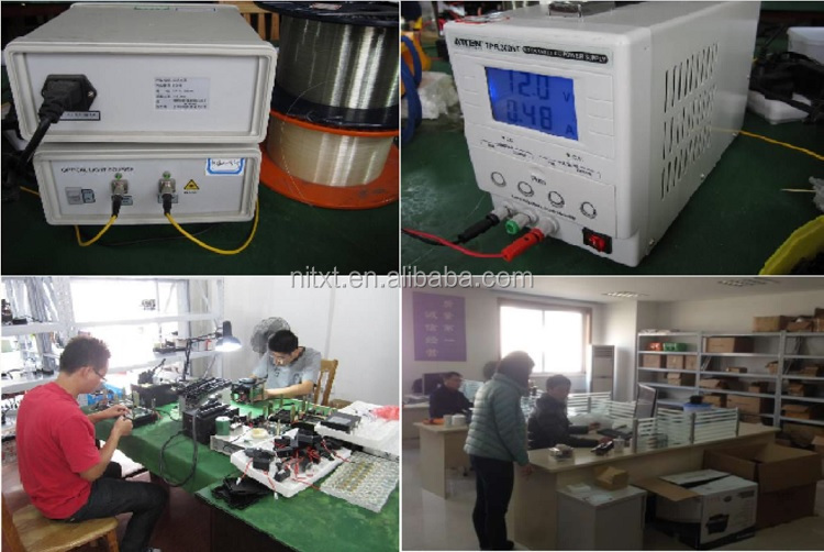 T-308X fiber optic polishing machine