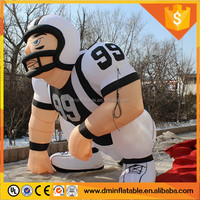 2016 new NFL inflatable player lawn figure, nfl inflatable bubba player for sale