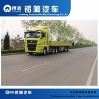 3 Axles 40ft Flatbed Bulk Cargo