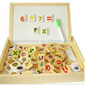 Wooden educational math blackboard toy